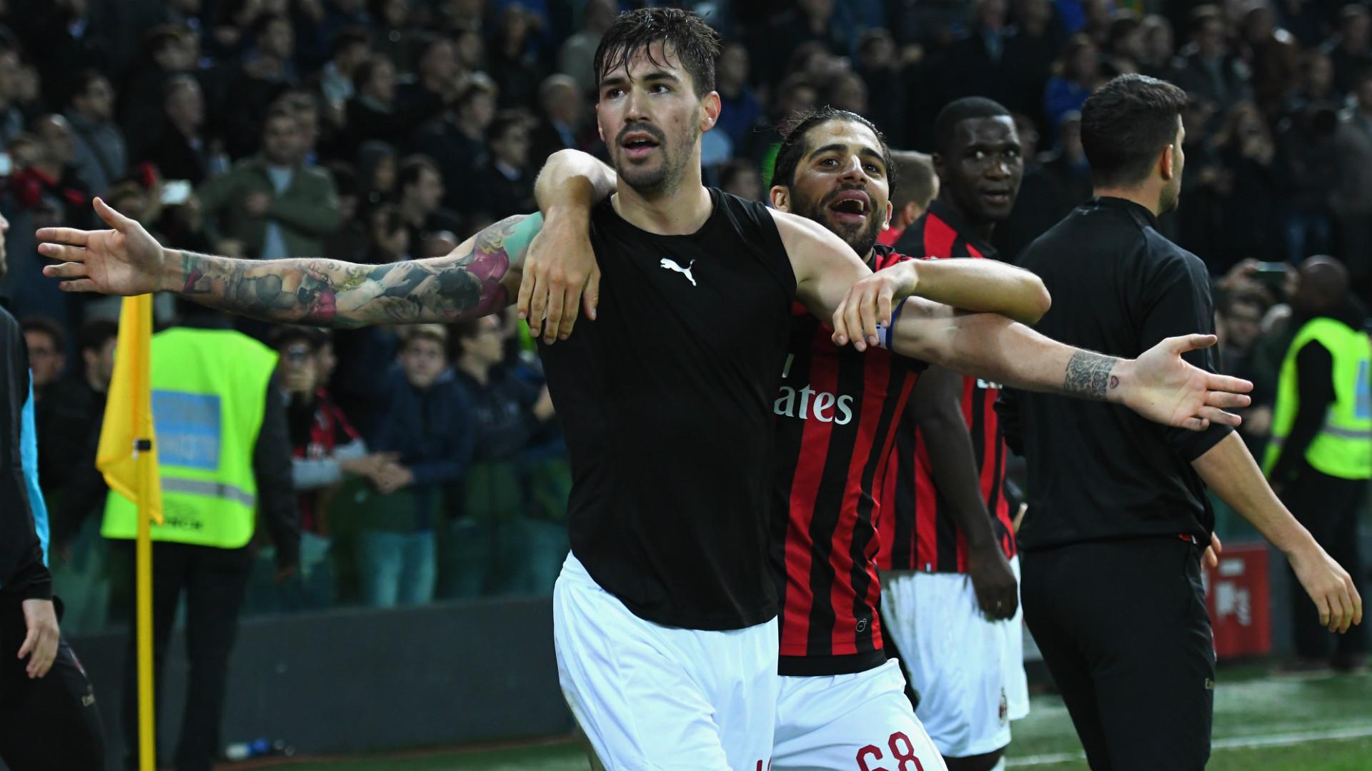 Romagnoli Rodriguez Udinese Milan