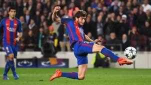 Sergi Roberto Barcelona PSG Champions League