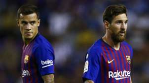 Philippe Coutinho Lionel Messi Barcelona 2018-19