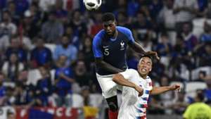 Samuel Umtiti Bobby Wood France USA Friendly 09062018