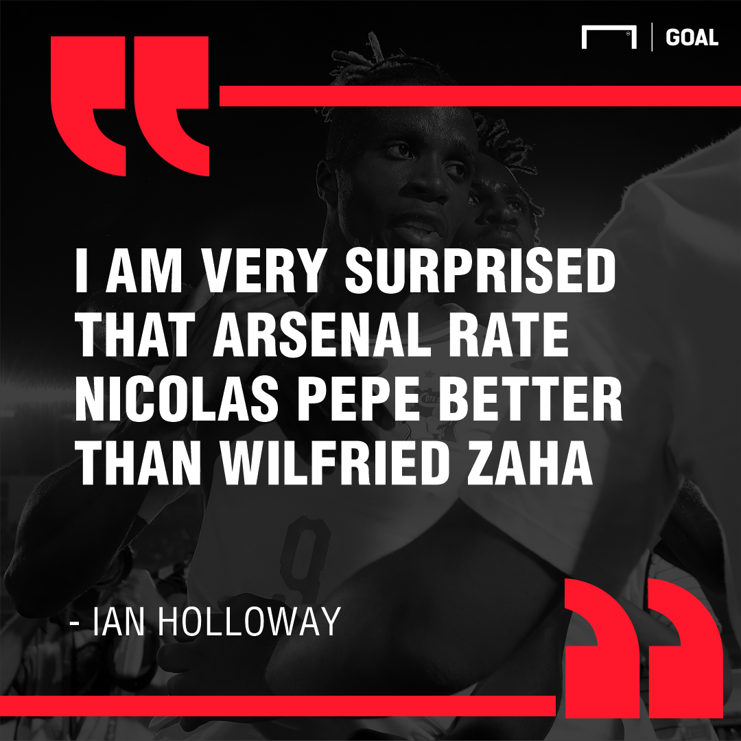 Holloway on Wilfried Zaha quote GFX