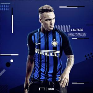 Lautaro Martinez Inter GFX