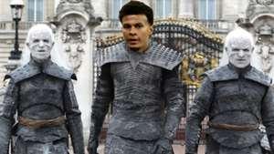 Dele Alli Night King Game of Thrones