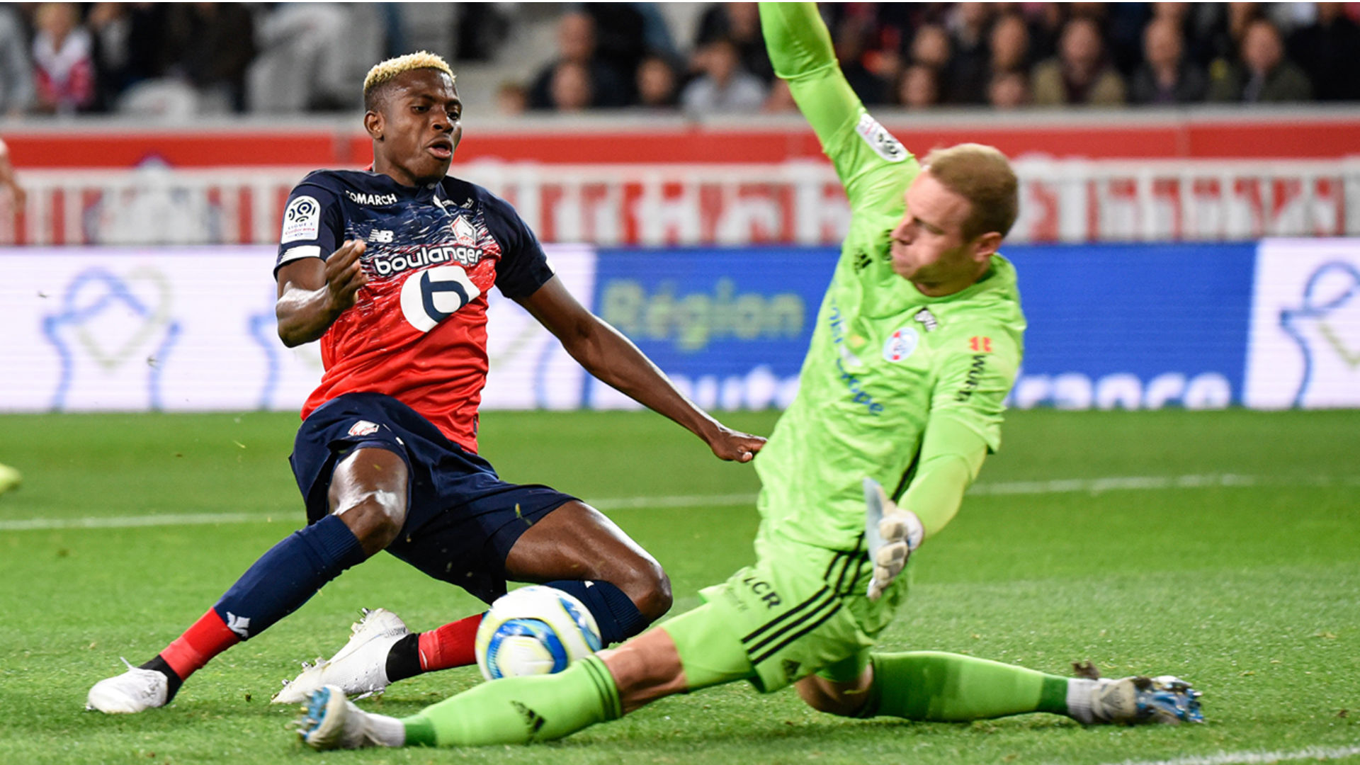 Osimhen's away struggles continue as Gradel's Toulouse down Lille