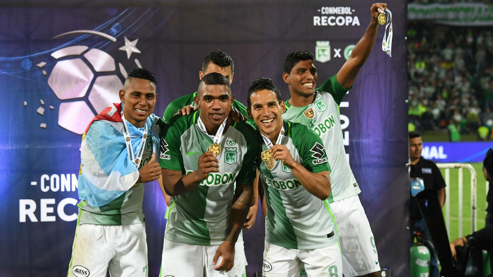 Atlético Nacional, campeón Recopa Sudamericana