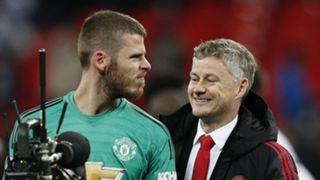 David de Gea Ole Gunnar Solskjaer Manchester United
