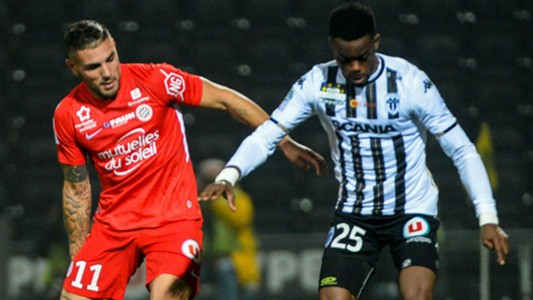 Andy Delort Abdoulaye Bamba Angers Montpellier Ligue 1 10112018