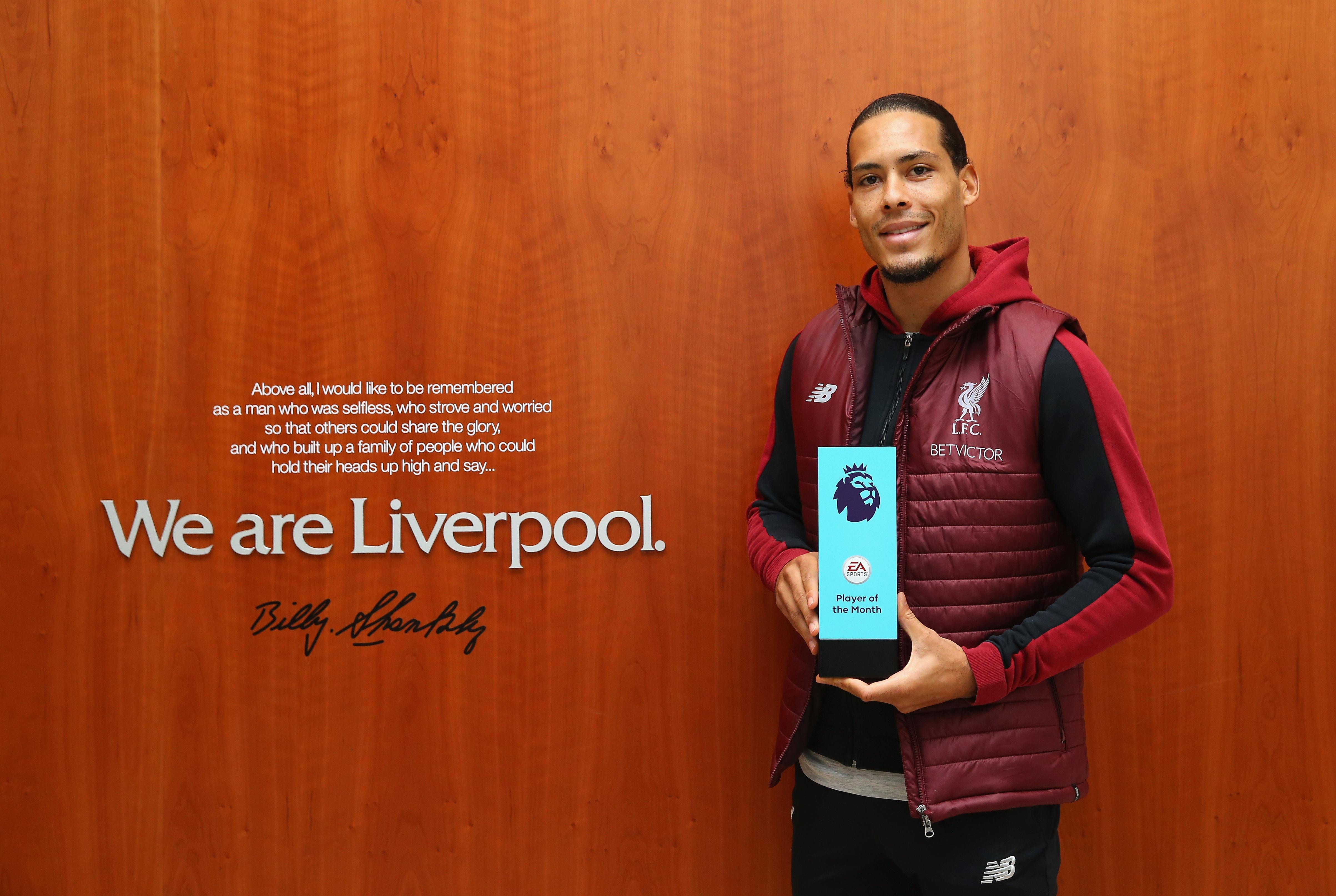 Virgil van Dijk - Liverpool 2019