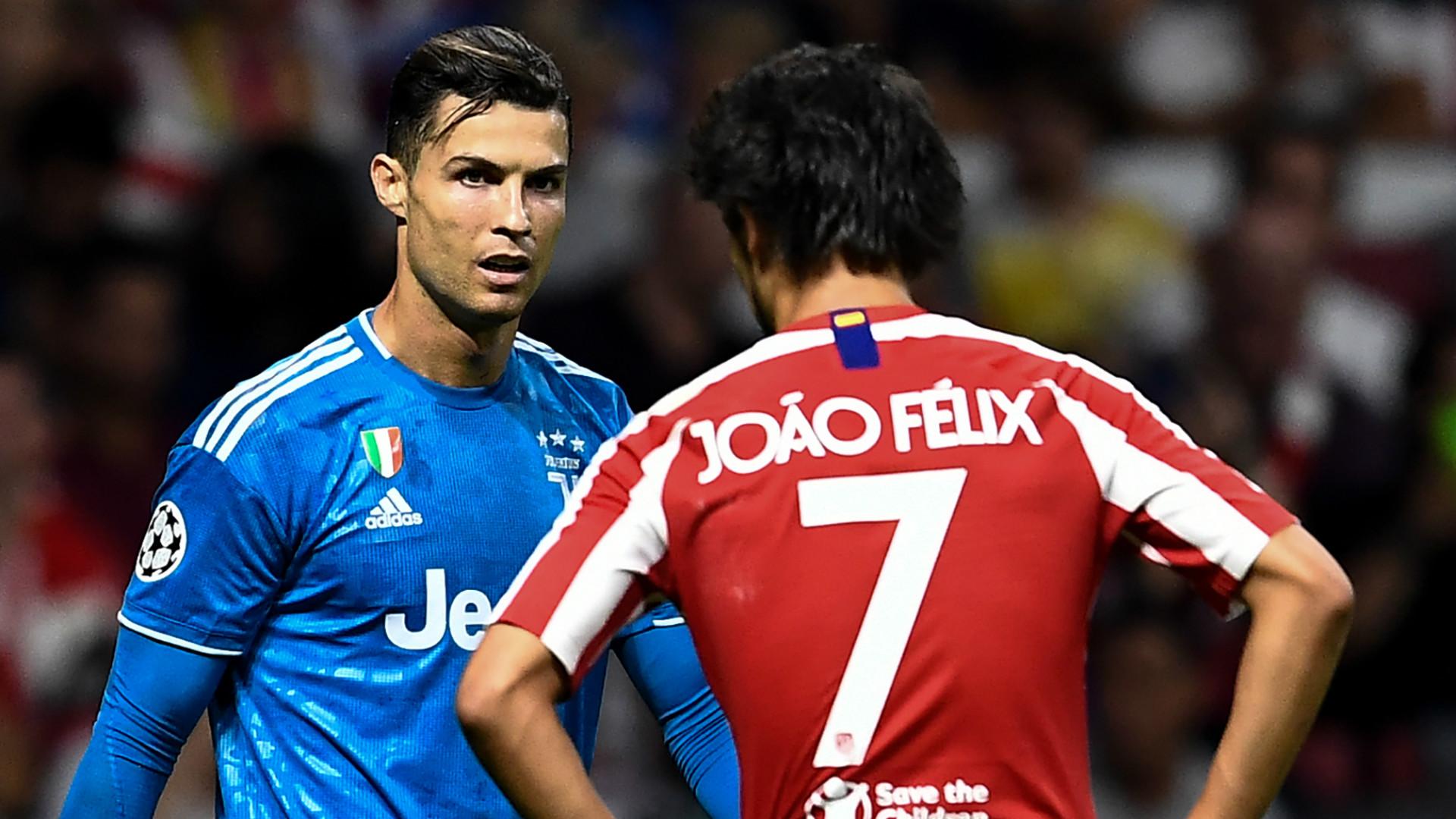 Cristiano Ronaldo Joao Felix Juventus Atletico Madrid 2019-20