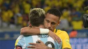 Neymar Lionel Messi Argentina Brazil