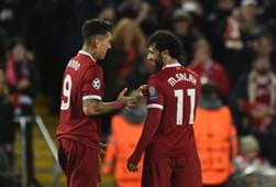 Roberto Firmino & Mohamed Salah