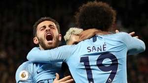 Bernardo Silva Leroy Sane Manchester City 2018-19