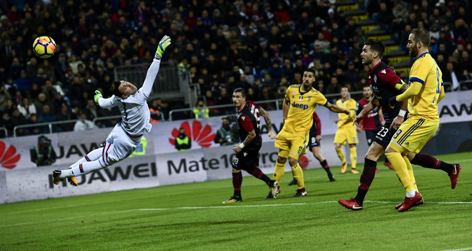 Rafael Cagliari Juventus Serie A