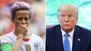 Megan Rapinoe Donald Trump