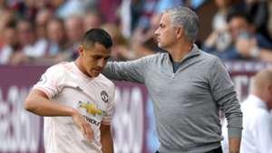 Alexis Sanchez, Jose Mourinho, Man Utd