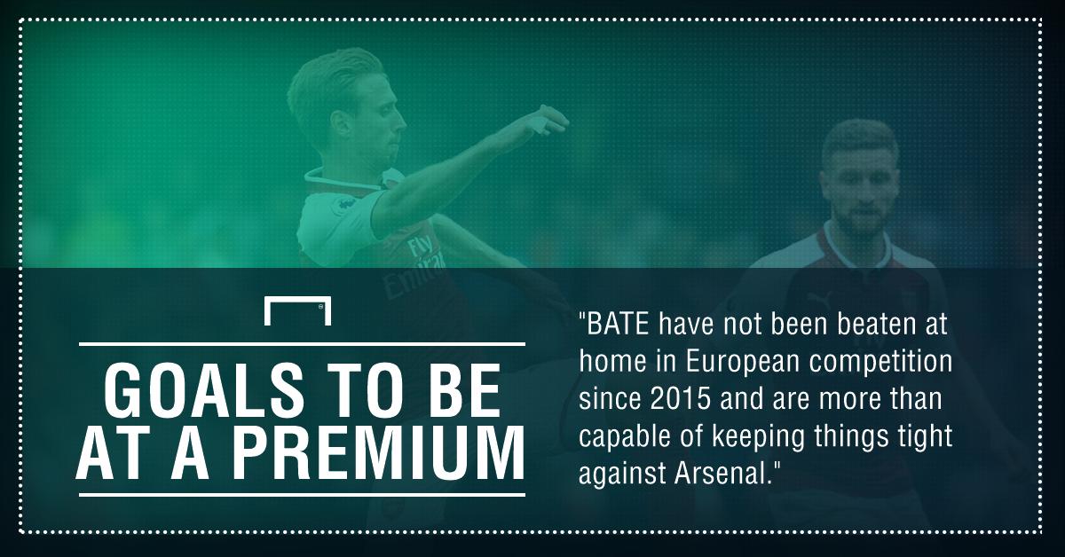 BATE Borisov Arsenal graphic