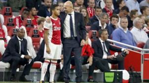 Justin Kluivert, Marcel Keizer, Ajax 08172017
