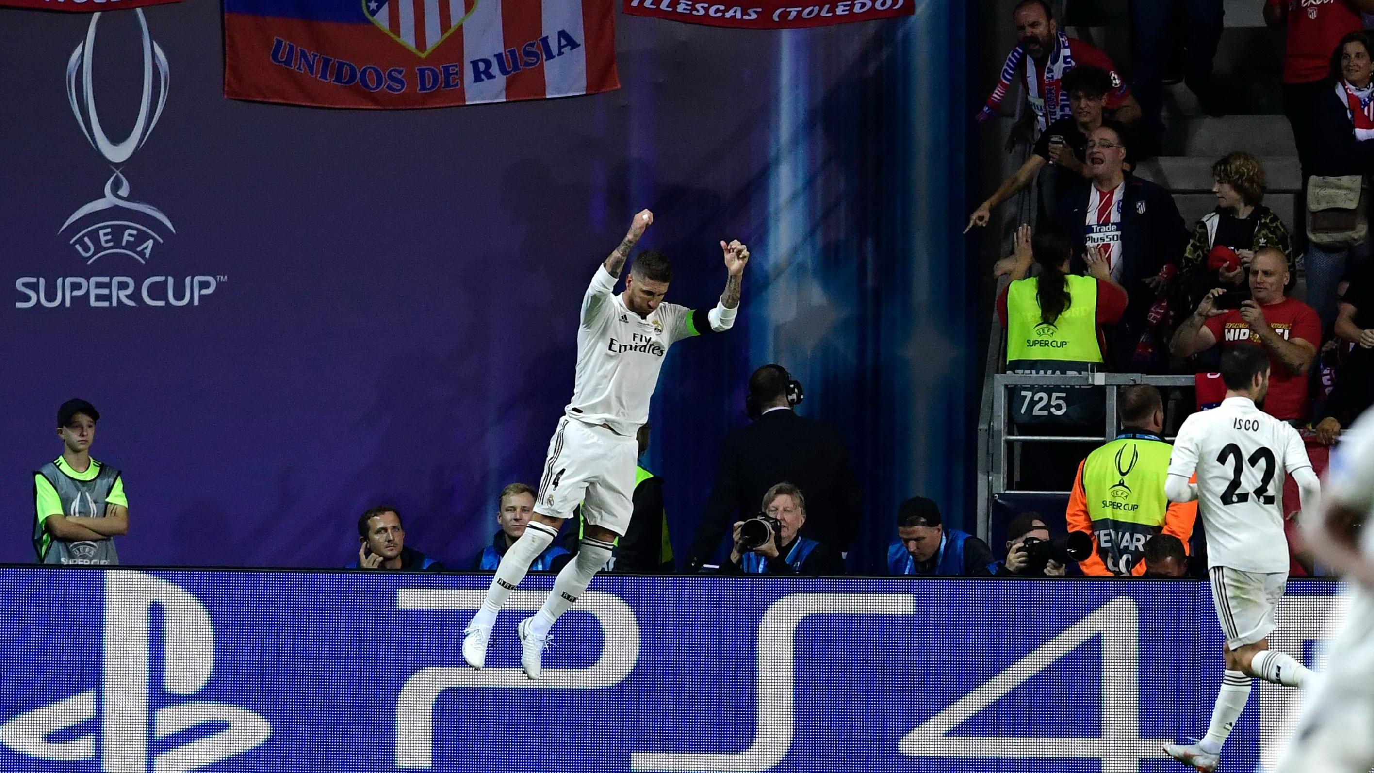 Sergio Ramos Real Madrid Atletico Madrid