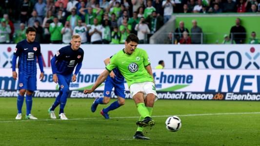 Mario Gomez Wolfsburg Braunschweig 25052017