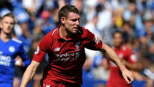 James Milner Liverpool Leicester City