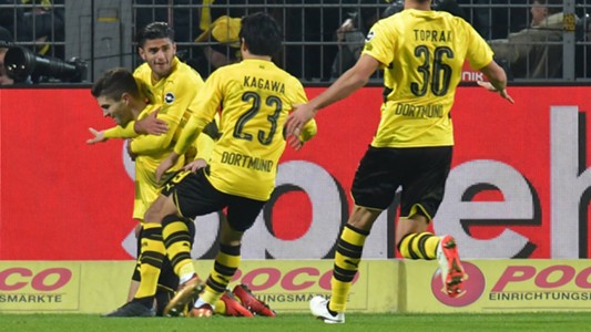 ONLY GERMANY Christian Pulisic Borussia Dortmund 16122017