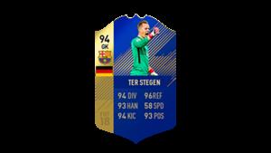 FIFA 18 Ultimate Team of the Season Ter Stegen