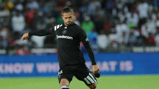 Marc van Heerden of Orlando Pirates