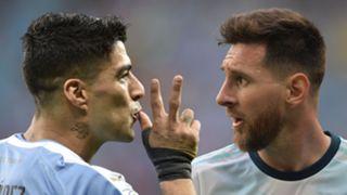 Luis Suarez and Lionel Messi, Copa America
