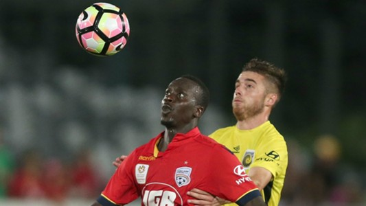 Baba Diawara Central Coast Mariners v Adelaide United A-League 25032017
