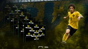 GFX So könnte Borussia Dortmund BVB mit Axel Witsel spielen