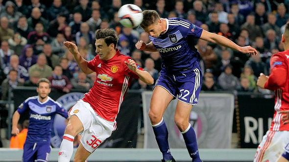 Darmian Rsc Anderlecht v Manchester Utd - UEFA Europa League 13042017