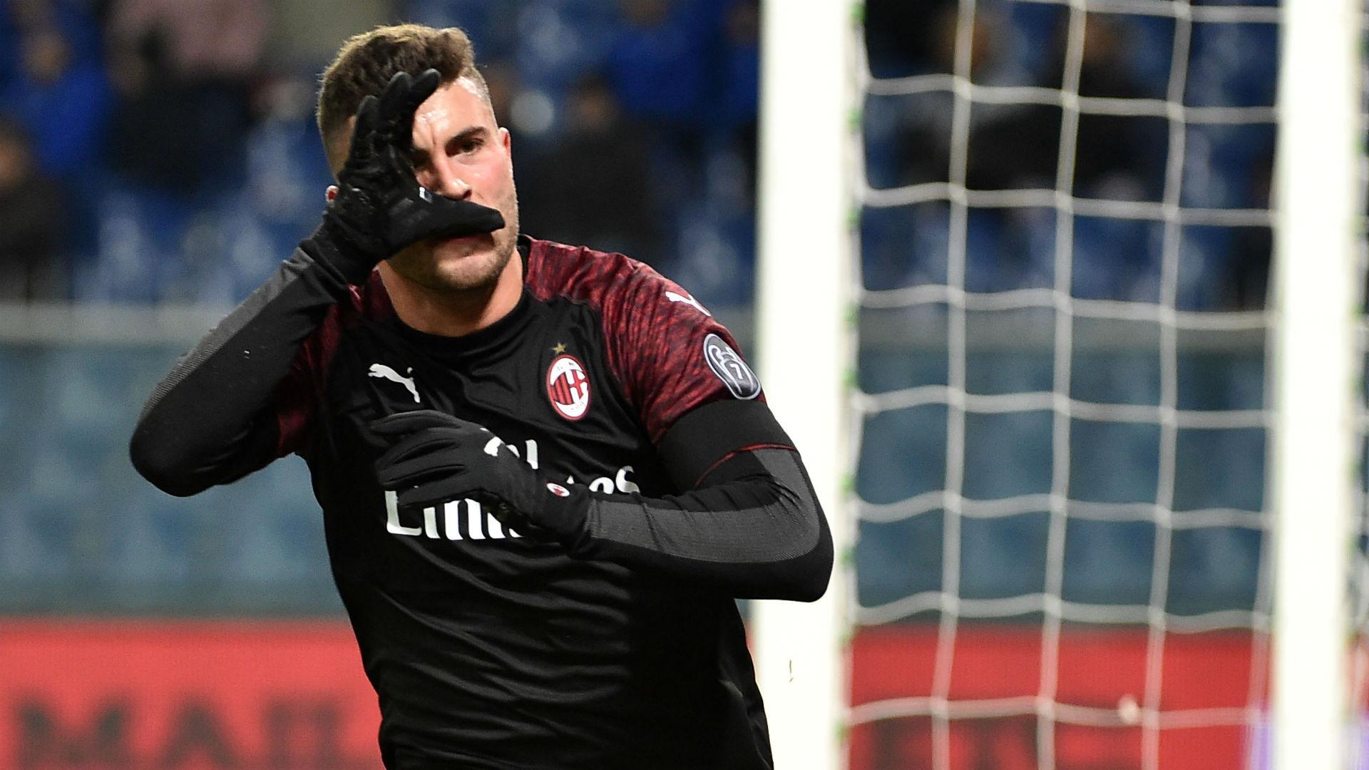 Patrick Cutrone Sampdoria Milan