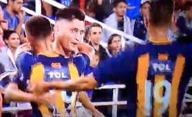 Alfonso Parot gol Central a Vélez 110318