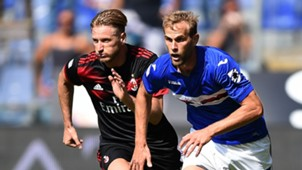 Ignazio Abate Ivan Strinic Sampdoria Milan Serie A