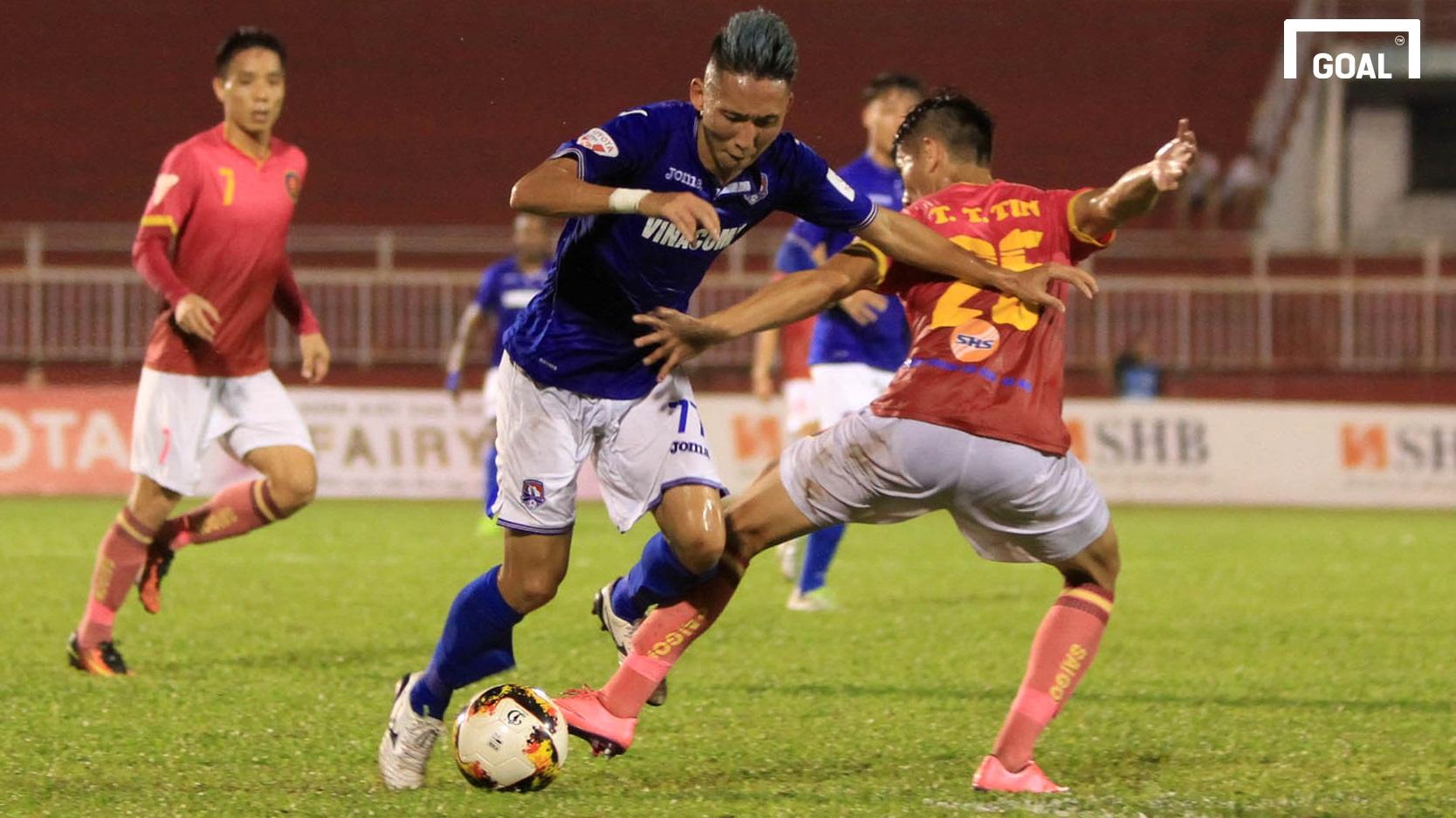 Sài Gòn FC Than Quảng Ninh Vòng 19 V.League 2017