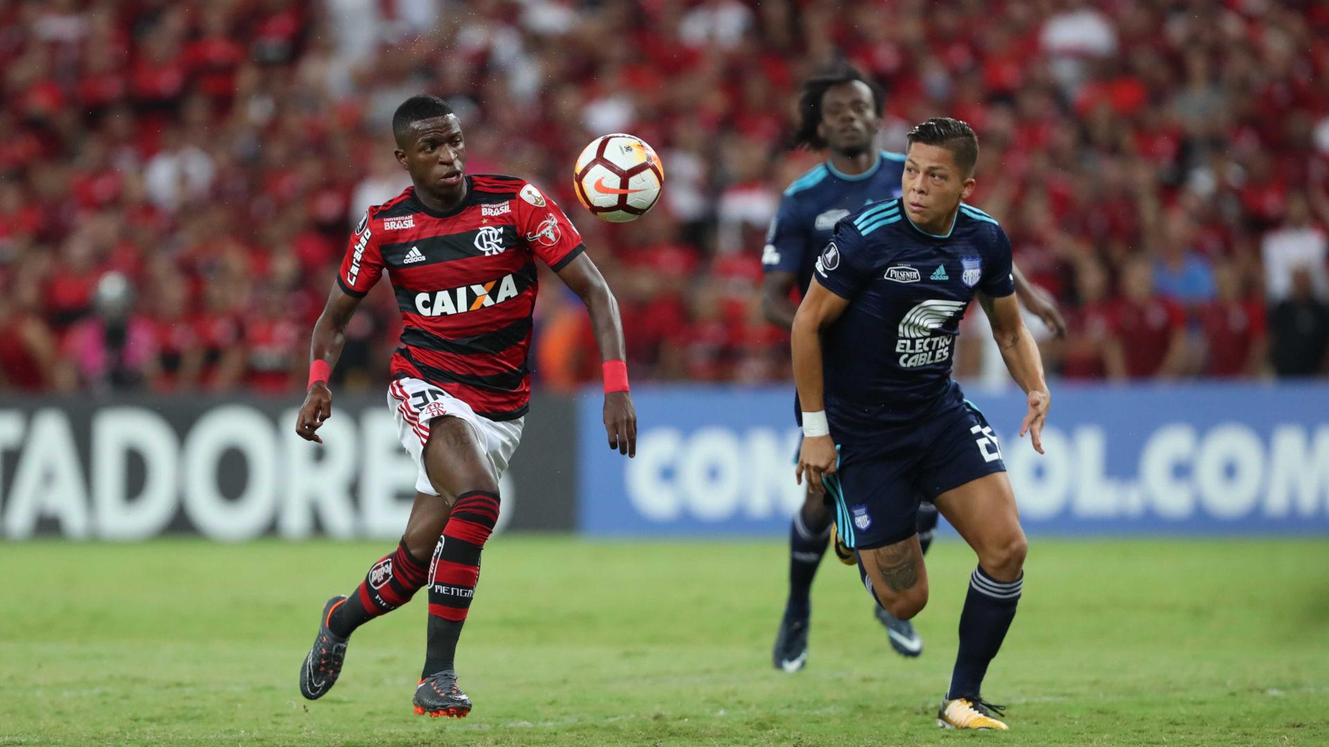 Vinicius Junior Flamengo Emelec Copa Libertadores 16052018