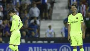 Pique Busquest Leganes Barcelona La Liga MD6