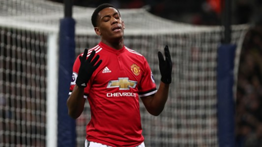 Anthony Martial Manchester United 31012018