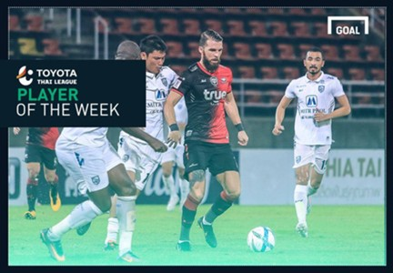 Image result for TOYOTA THAI LEAGUE PLAYER OF THE WEEK 31 : ดราแกน บอสโควิช