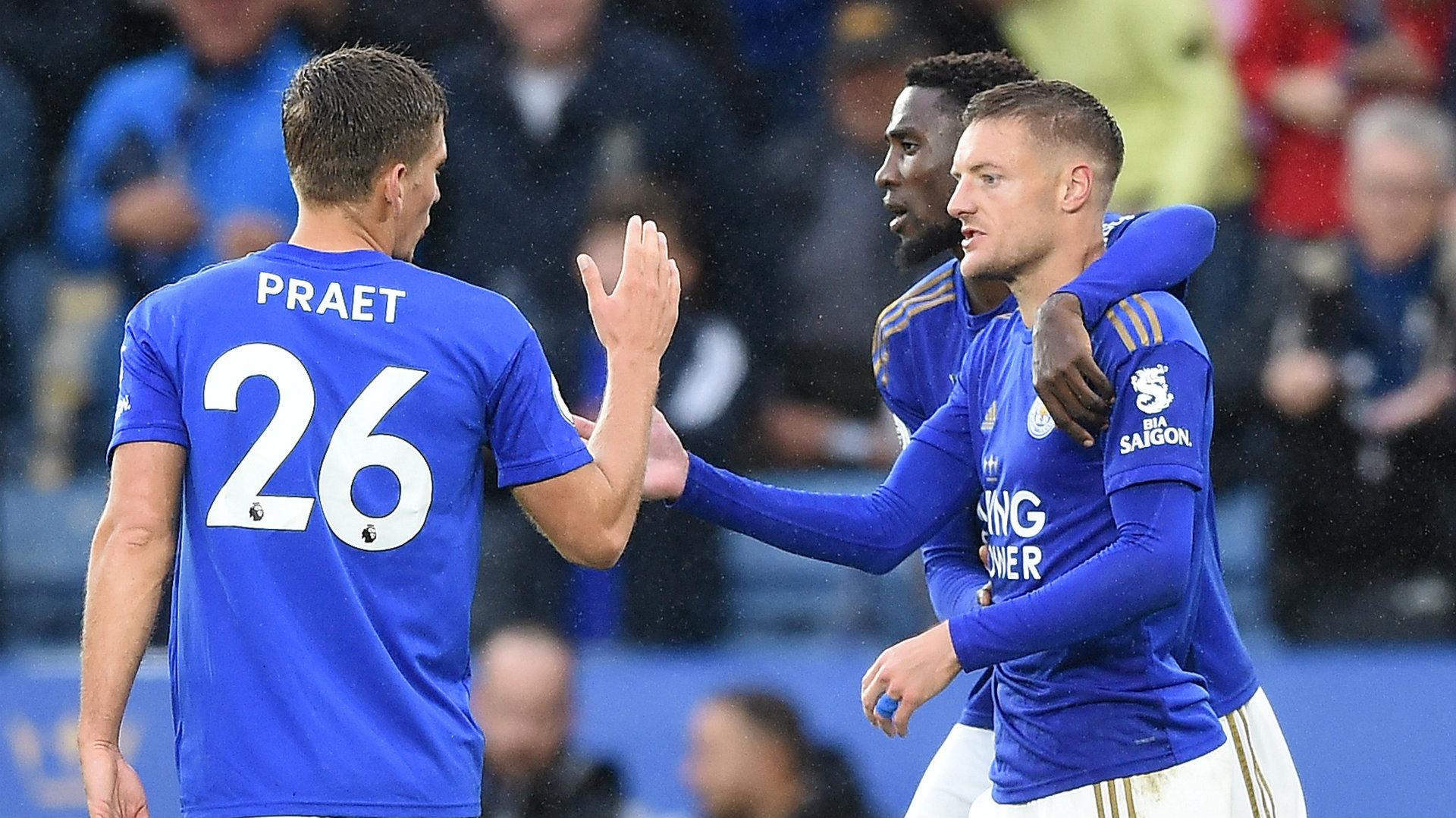 Jamie Vardy Dennis Praet Leicester vs Newcastle 2019-20