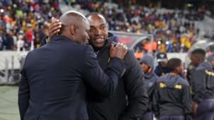 Steve Komphela and Benni McCarthy - Kaizer Chiefs v Cape Town City