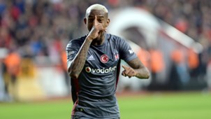 Anderson Talisca goal celebration Besiktas Antalyaspor 01212018