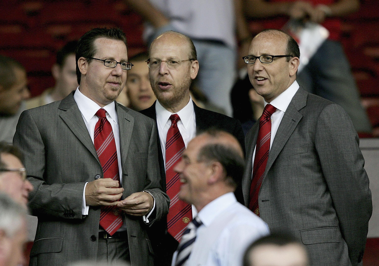 Bryan Glazer Joel Glazer Avram Glazer Manchester United