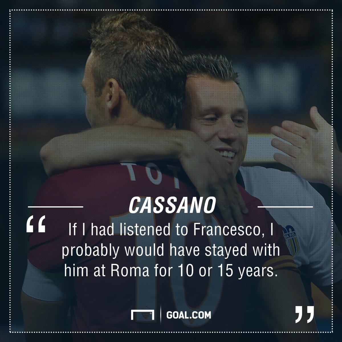 Antonio Cassano Totti PS