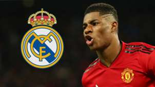 Marcus Rashford Manchester United Real Madrid