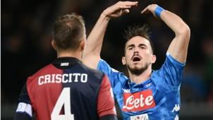 Genoa Napoli Fabian Ruiz Criscito Serie A