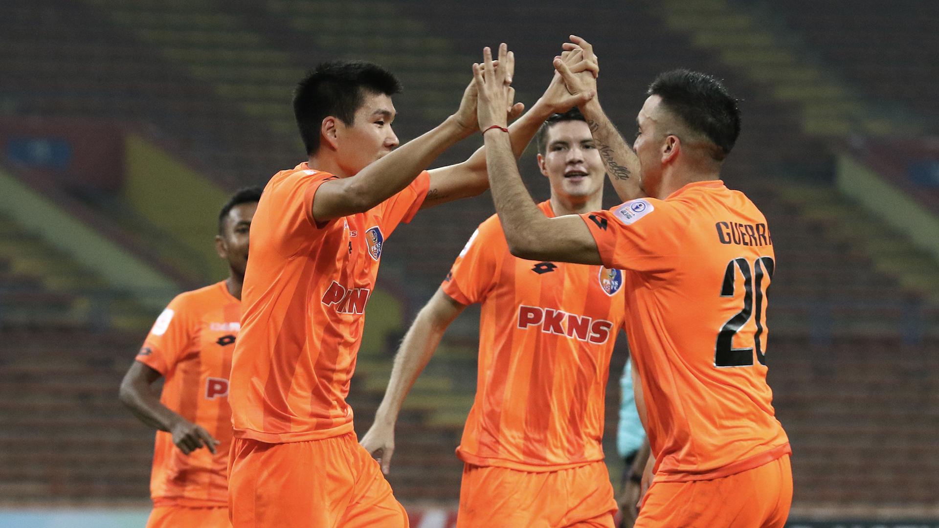 Tamirlan Kozubaev, PKNS v Felda, Super League 9 Mar 2019