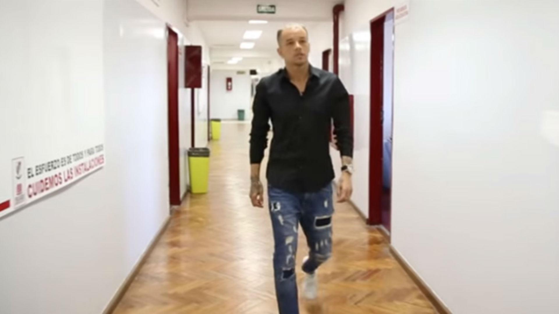 Andrés D'Alessandro terminó el secundario en el Instituto River