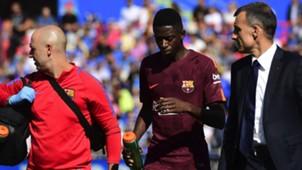 Ousmane Dembele Getafe Barcelona LaLiga 16092017