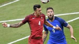 Olivier Giroud Rui Fonte Portugal France UEFA Euro 10072016
